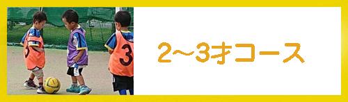 2〜3コース